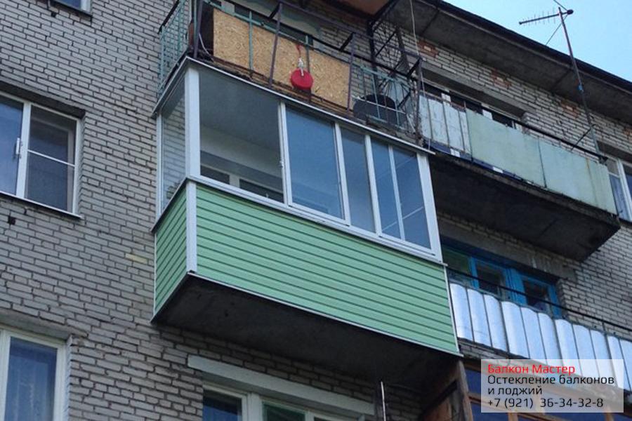 Остекление балконов и лоджий в Москве под ключ