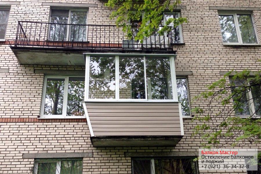Остекление балконов алюминиевым профилем фото вариантов