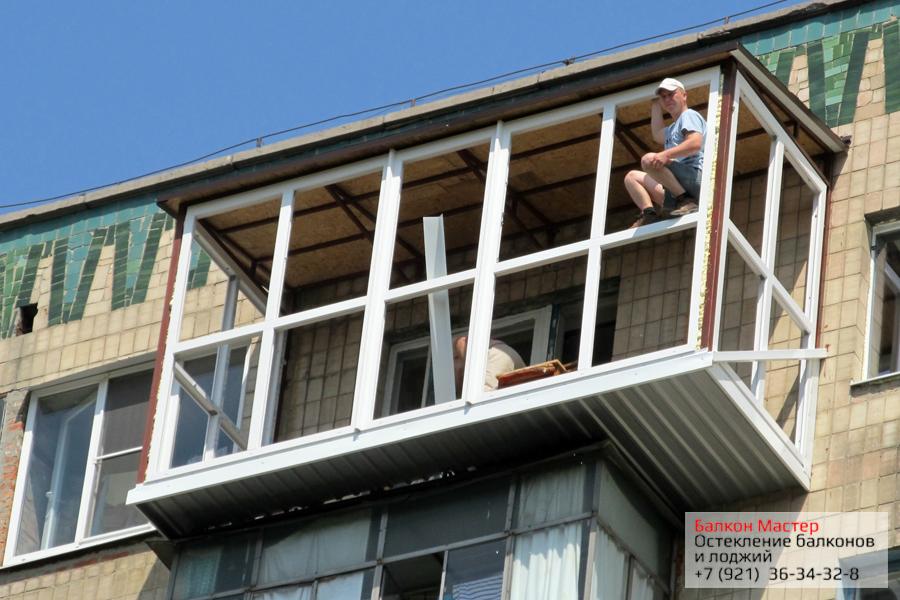 Остекление балконов в Самаре цена под ключ расчет