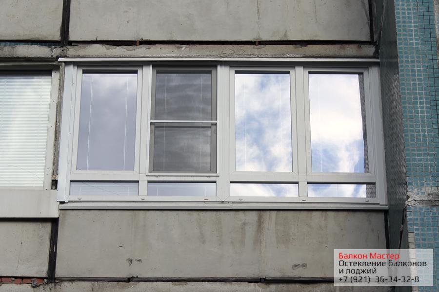 Остекление балкона,лоджии в 504 серии цена отделка и остекле.